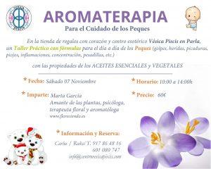 Aromaterapia para Peques @ Centro Vesica Piscis